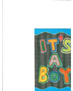 It's A Boy Card - Blessings