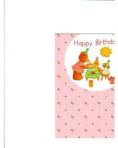 Happy Birthday Card - Cute Birthday Wishes