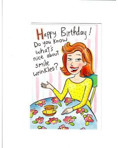 Happy Birthday Card - Keep Smiling