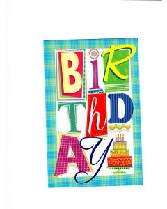 Birthday Card - Warm Wishes