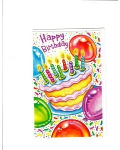 Happy Birthday Card - Let's Birthday Begin