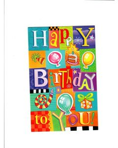 Happy Birthday Card - Let's Fun