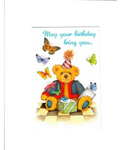 may your birthday bring you Card