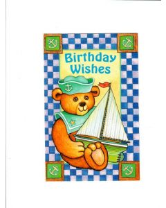 Birthday wishes LGS486 Card