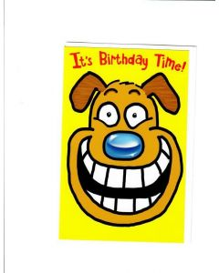 It's Birthday Time Card