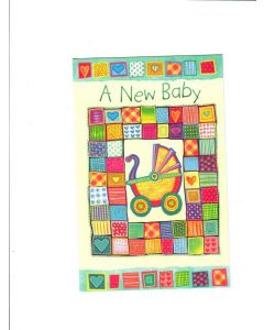 A New Baby Card - Congratulations A Lot