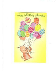 Happy birthday granson Card