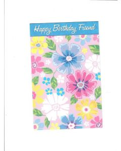 Happy birtday to friend Card