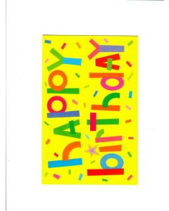 Happy birtday Card