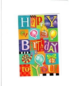 Happy Birthday Card - Celebrate your Day