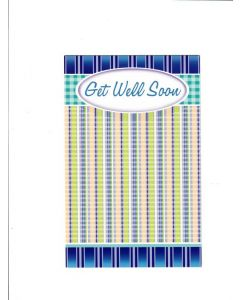 Get Well Soon Card - Stay Healthy