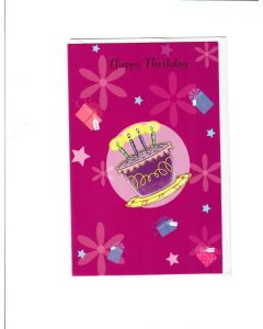 Happy Birthday Card - For Birthday Girl