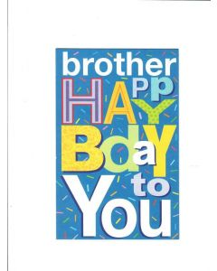 Brother Happy Birthday to You Card - Stay Happy