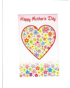 Happy Mothers Day Card - With Love