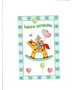 Happy Birthday Card - Cute One