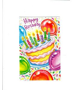 happy birthday LGS683 Card
