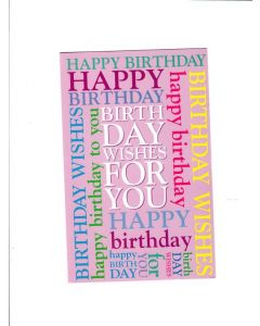 happy birthday wishes for you Card