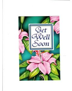 Get Well Soon Card - Recover Fast