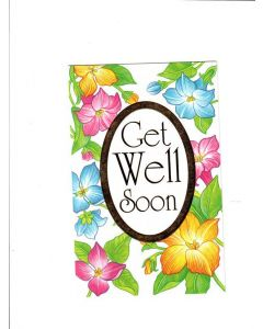 Get Well Soon Card - Stay Strong