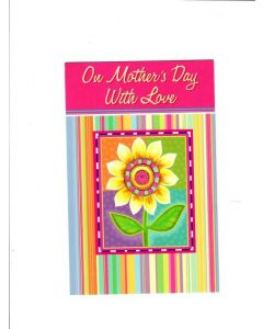 on mothers day wih love Card
