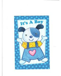 It? a boy LGS709 Card