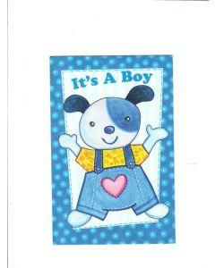 It? a boy LGS709 Card