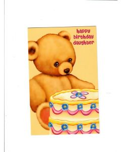 happy birtjday daughter Card