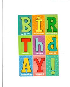 birthday LGS717 Card