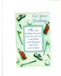 On Your Birthday Card - May You have Best Birthday