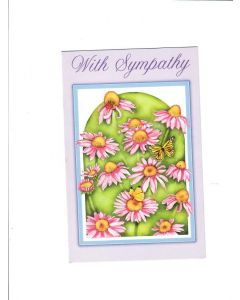 With Sympathy Card - Thinking About You