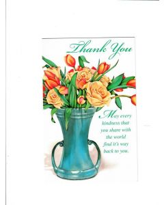 Thank You Card - May Every Kindness Find Way Back to You