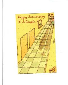 happy anniversary to a couple Card