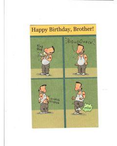 happy birthday brother LGS778 Card