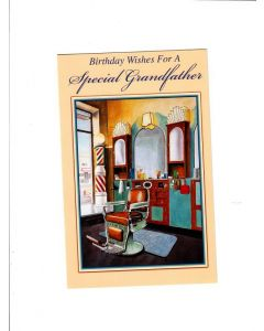 birthday wishes for a special grandfather LGS783 Card