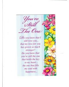 Your Are Still One Card - Love You