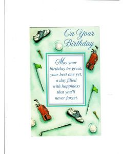 on your birthday LGS788 Card