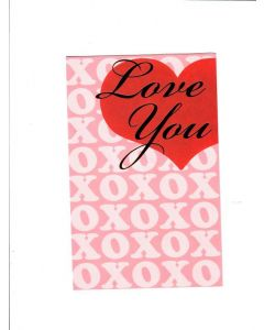 To The One I Love Card - With Love