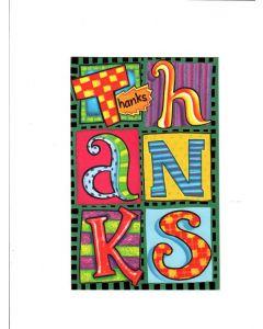 Thanks Card - A Big Thank You