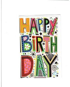 Happy Birthday Card - Time to Party