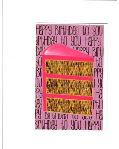 Happy Birthday Card - A Piece of Cake