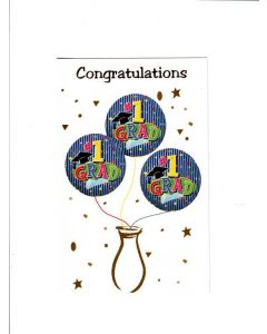 Congratulations for 1st Grad Card