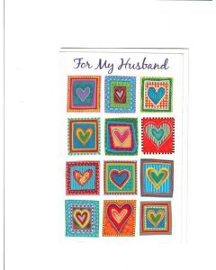 For My Husband Card - With Love