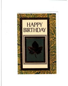 Happy Birthday Card - Old and Wise, Ready to Rise