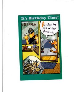 Its Birthday Time Card