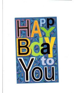 Happy Bday to You Card
