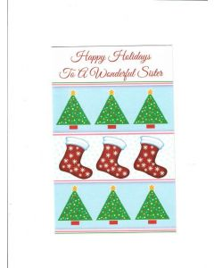 holiday wishes for a special brother & his family Card