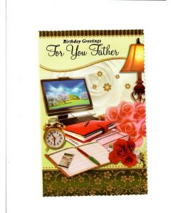 Birthday Greetings For You Father Card