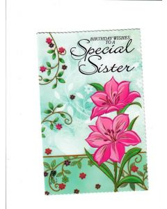 Birthday Wishes To A Special Sister Card